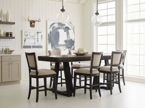 Plank Road 5-Piece Counter Height Dining Room Set