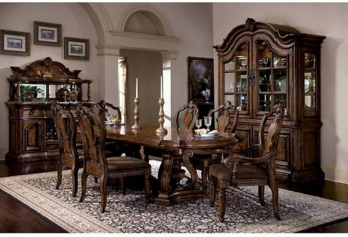 San Mateo 5-Piece Traditional Dining Table