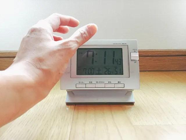 デジタル置き時計