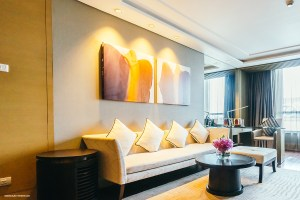 BANGKOK, THAILAND - AUGUST 12 2016: Beautiful luxury living room