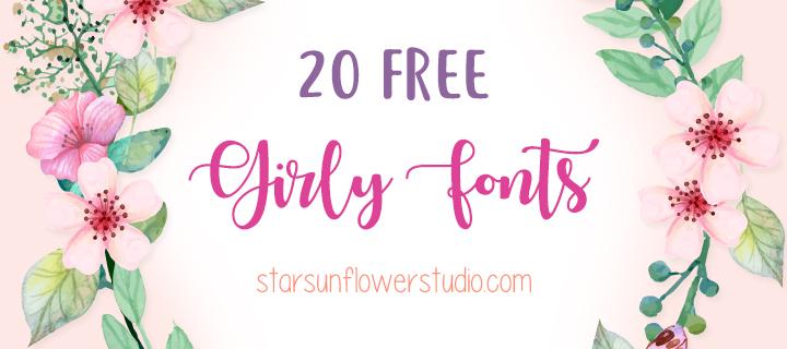 feminine fonts, free fonts, girly fonts, brush script fonts, brush fonts, handwriting fonts, hand drawn fonts