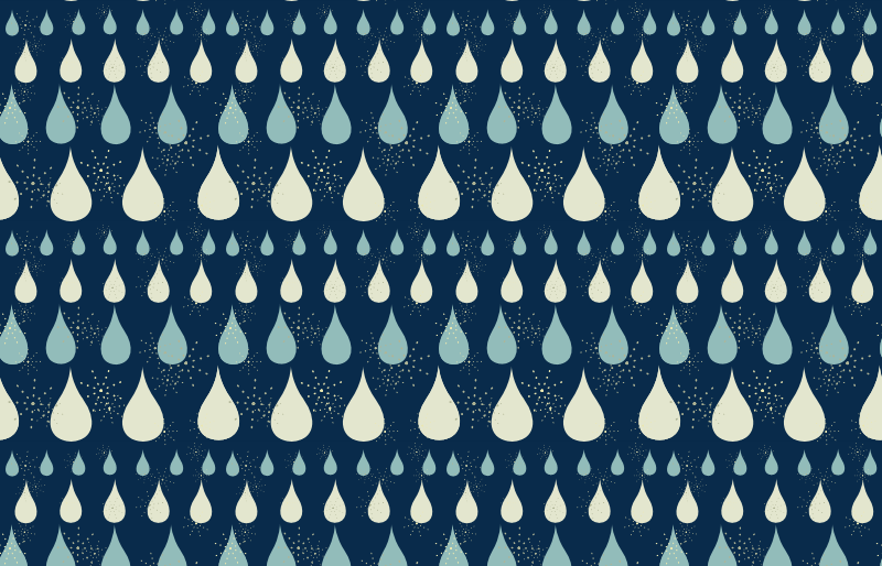Teardrop Stars Background Pattern