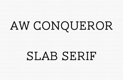 Aw Conqueror Free Font for Download