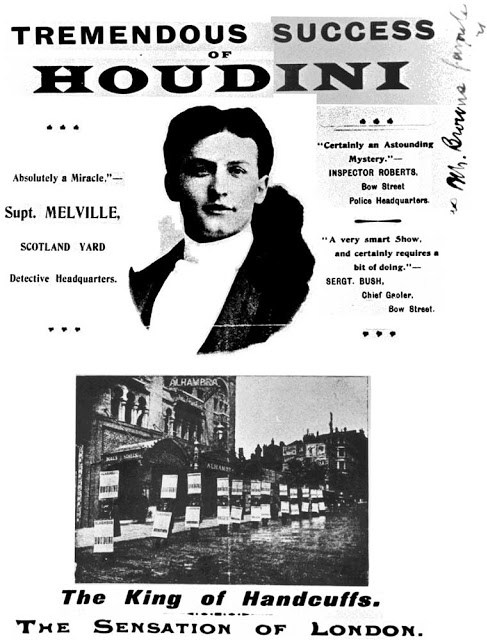 old photographs | harry houdini