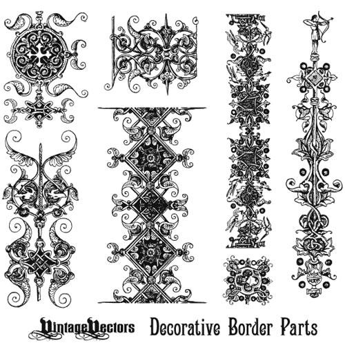 Gorgeous Free Vintage Frames Borders & Ornaments