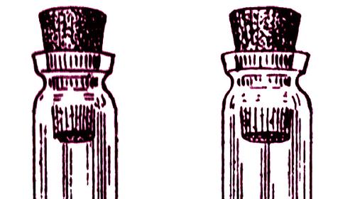 free vintage digital stamps empty vials, vintage images, vintage illustrations