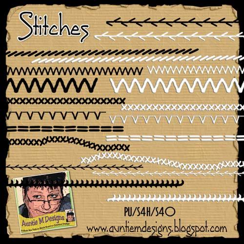 digiscrap, free digital scrapbooking, free stitches elements scrapbooking,