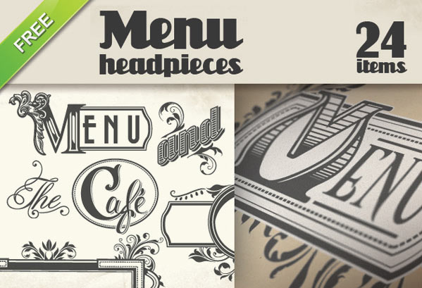 free vector for restaurant, free menu vector, vectors for designing a menu, menu design, free vector, free vectors