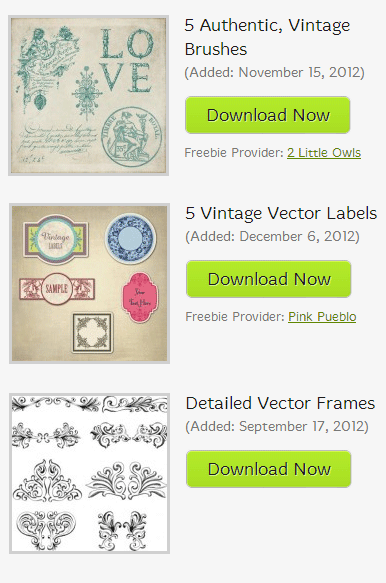 vintage brushes, vector ornaments, border ornaments, vintage labels free, free vectors, free brushes, free vintage brushes graphics, free vintage images