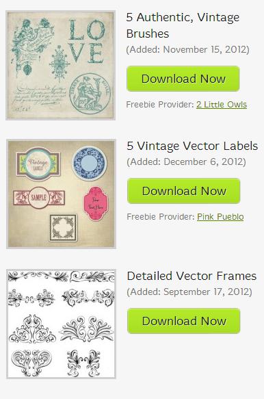 vintage brushes, vector ornaments, border ornaments, vintage labels free, free vectors, free brushes, free vintage brushes graphics, free vintage images