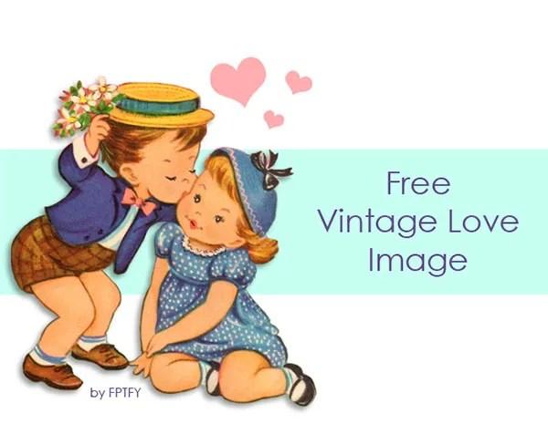 Free Vintage Clipart Valentine's Day