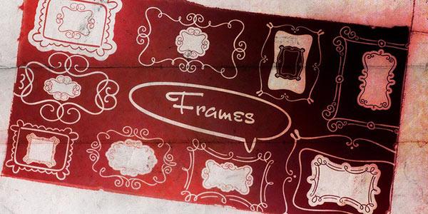 Doodle Frames Dingbat Font
