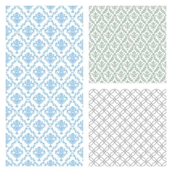 free damask pattern, free quatrefoil pattern, damask papers, cute papers, printable papers