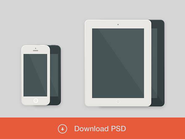 minimal ios psd, minimal gui psd, gui design, psd for web, psd web, iphone psd, ipad psd, phone and tablet psd,