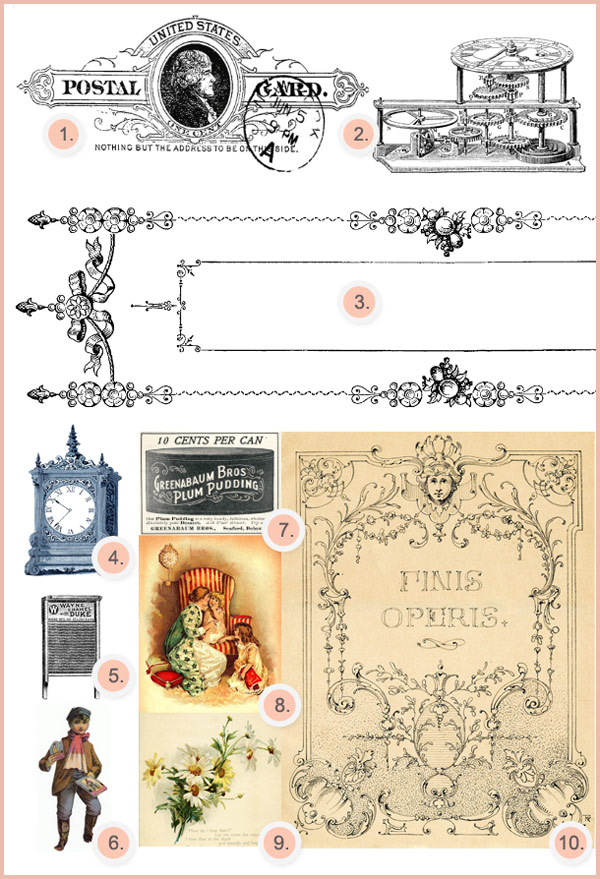 free vintage clipart, vintage graphics, vintage photo, vintage illustration