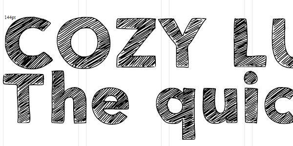 free font, sketch font, hand drawn font