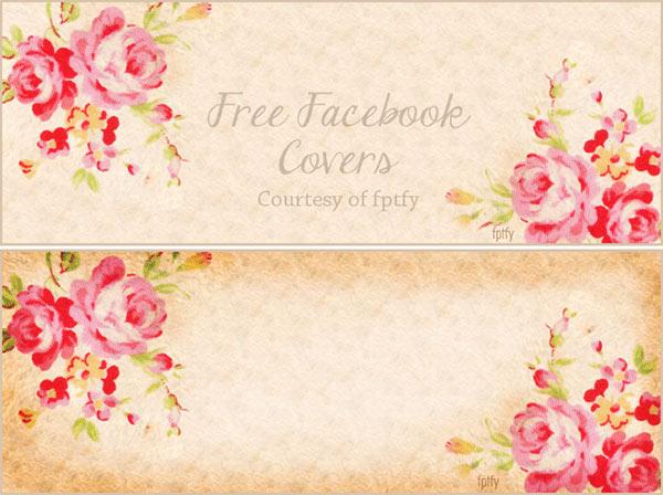 free facebook timeline covers, vintage facebook timeline cover, facebook timeline cover roses