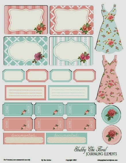 cottage chic, shabby chic, free printables, shabby frames, shabby borders, printable cards, printable labels, circle printables