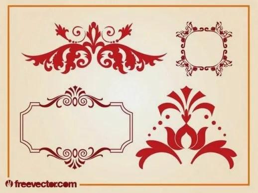 vintage frame, decorative frame, free vectors, vectors free,