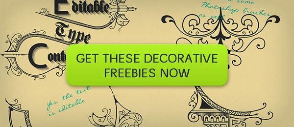 brushes, vintage, free, decorative, ornaments, free brushes, photoshop brushes, freebies