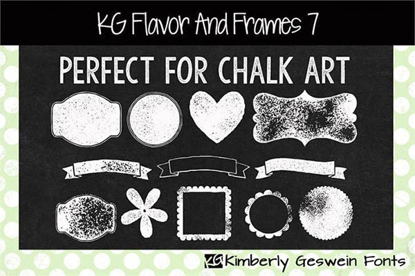 free frames, chalk frames, chalk board frames, chalk ribbons, chalk board ribbons