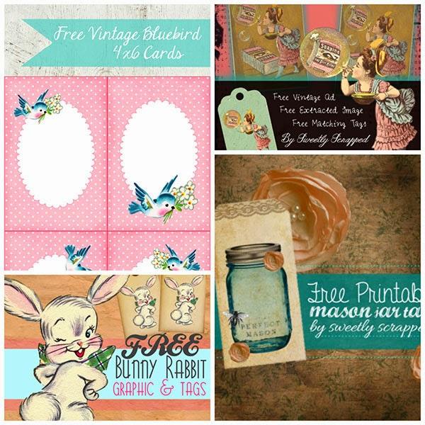 mason jar printables, bird card printable, bluebird printable, easter printable, easter bunny printable, free printables