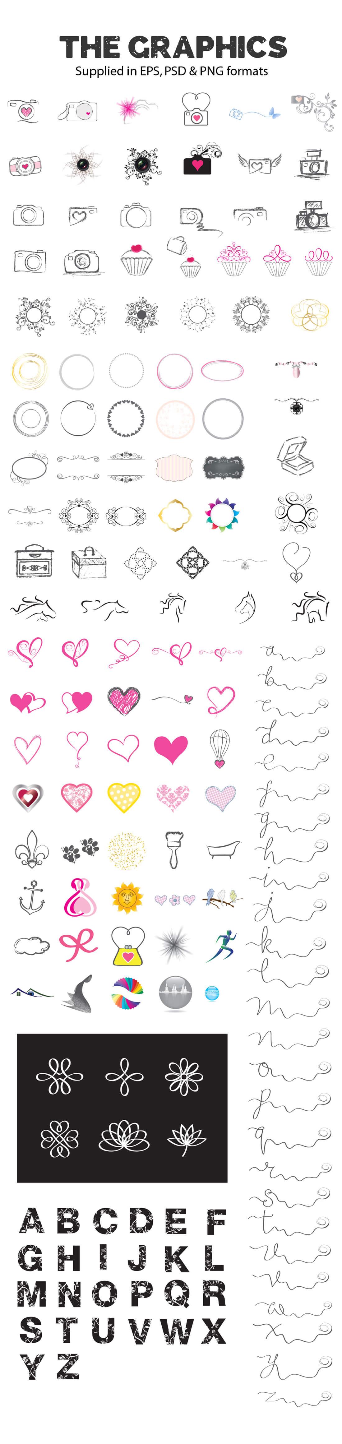 Designer kit graphics