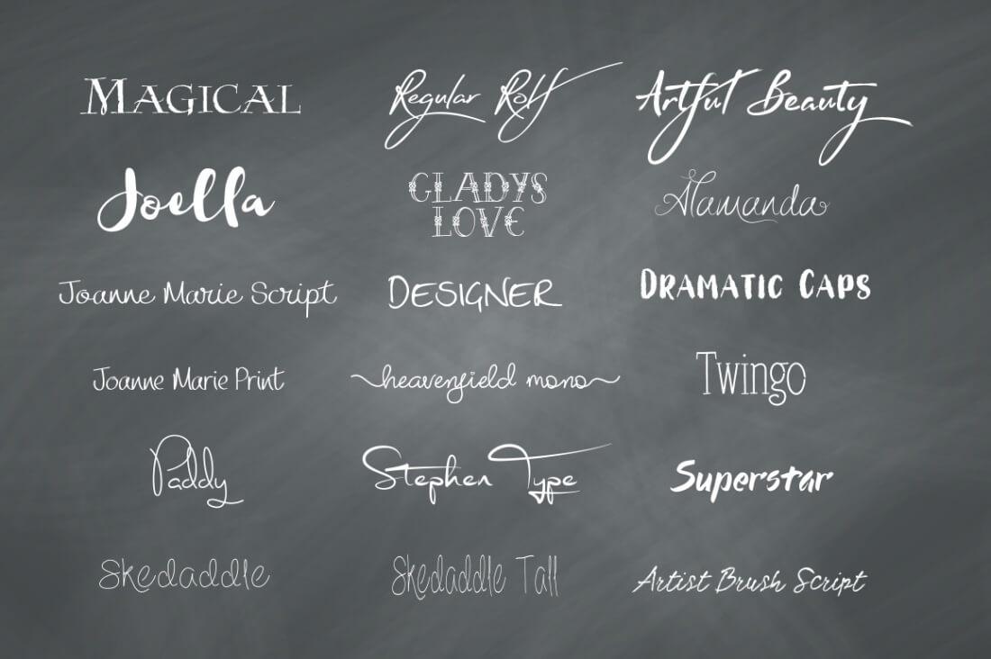 FUNKY BUNDLE Fonts