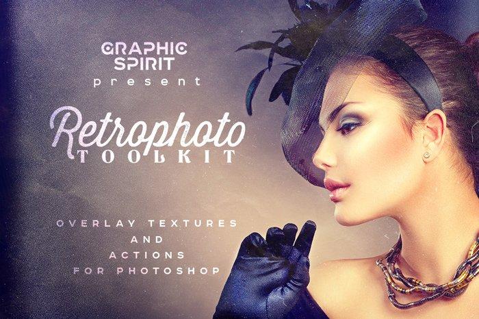 Retro Photo Toolkit for Photoshop