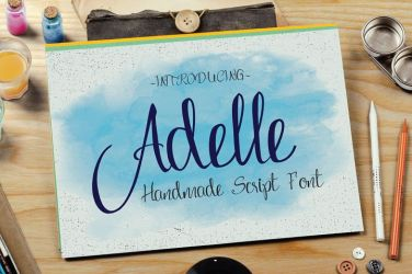 0001_Adelle_Handmade_Script_Font