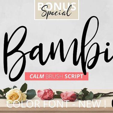0006_Bambi_Script_Font