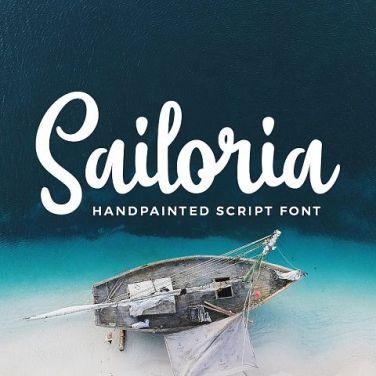 0007_Sailoria_Handpainted_Script_Font