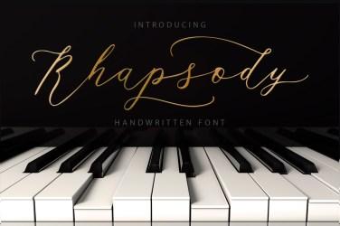 008_Rhapsody_Hand_Drawn_Font