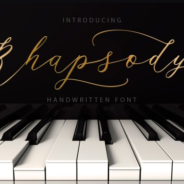 008_Rhapsody_Hand_Drawn_Font