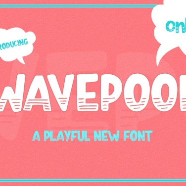 012_Wavepool_Playful_font