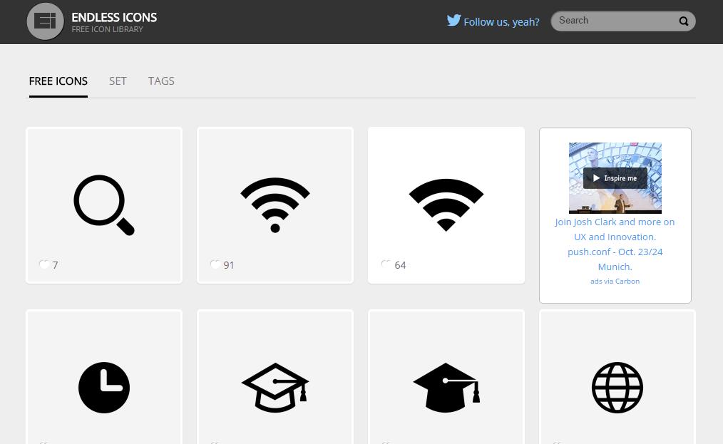 Kostenlose Icons
