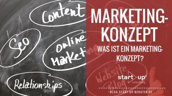 Marketingkonzept - Was ist ein Marketingkonzept?