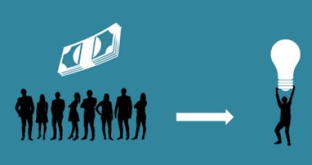 Beim Crowdinvesting werden die Investoren/Kapitalgeber finanziell am Erfolg beteiligt