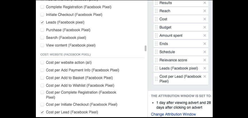 facebook tracking code 2017