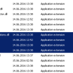 SharePoint does not have a build version. Full Stop.