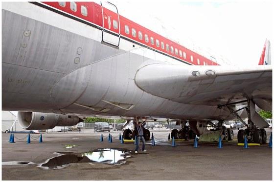 Seattle Museum of Flight Boeing 747