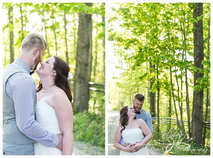 Temple's Sugar Bush Wedding Stephanie Beach Photography 18