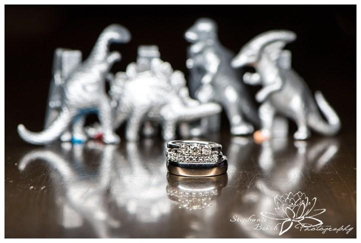 museum-of-nature-ottawa-wedding-stephanie-beach-photography-reception-rotunda-ring-shot-macro-dinosaur