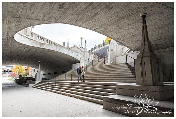 parliament-hill-engagement-session-Stephanie-Beach-Photography-bridge-rideau-street-stairs