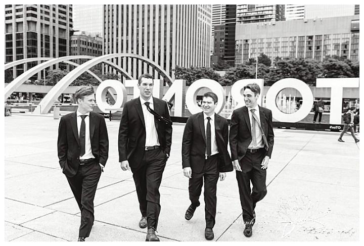 Toronto-City-Hall-Wedding-Stephanie-Beach-Photography-groom-groomsmen