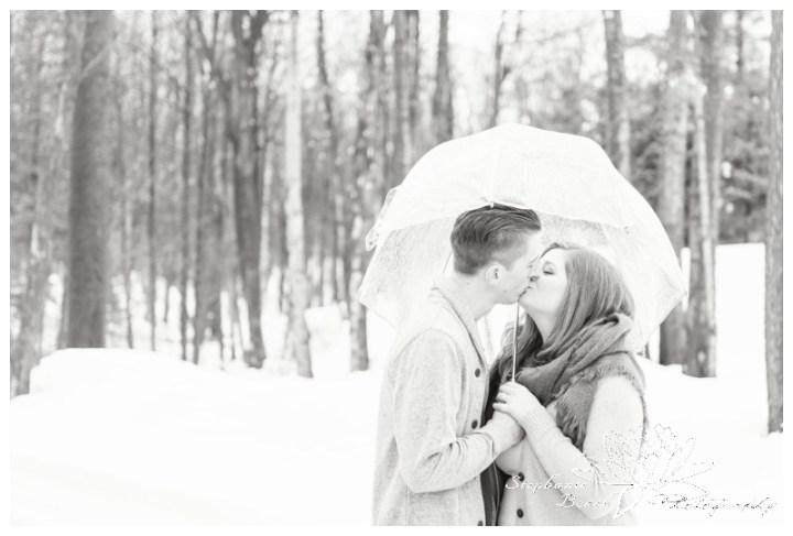 Indoor-Engagement-Session-Chelsea-Quebec-Stephanie-Beach-Photography-winter-umbrella-rain