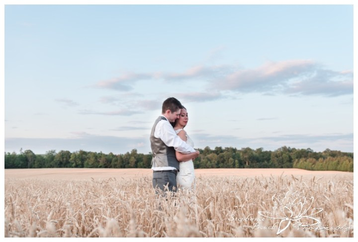 Evermore-Wedding-Ottawa-Stephanie-Beach-Photography-bride-groom-portrait-wheat-sunset