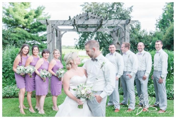 Strathmere-Lodge-Wedding-Stephanie-Beach-Photography-bridesmaids-bouquets-bride-groom-groomsmen