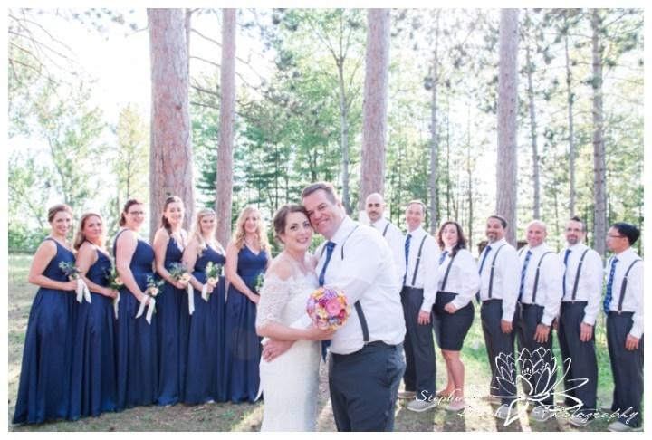 Red Pine Camp Golden Lake Wedding Stephanie Beach Photography 24