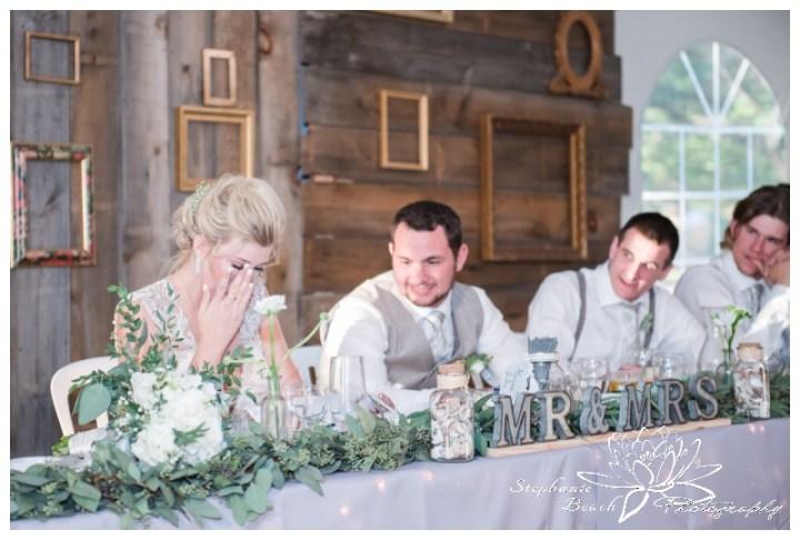 Stanleys-Olde-Maple-Lane-Farm-Wedding-Stephanie-Beach-Photography-reception-speeches
